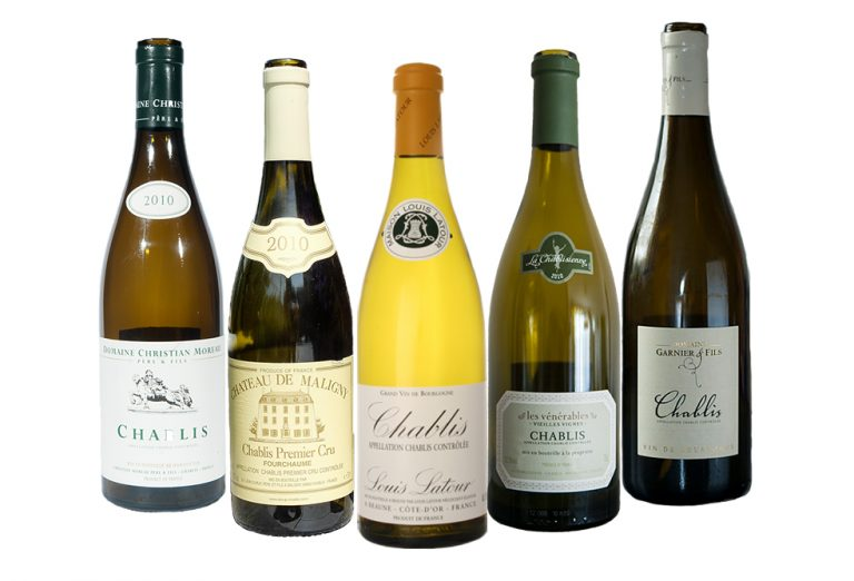 Chablis-Wine-Bottles